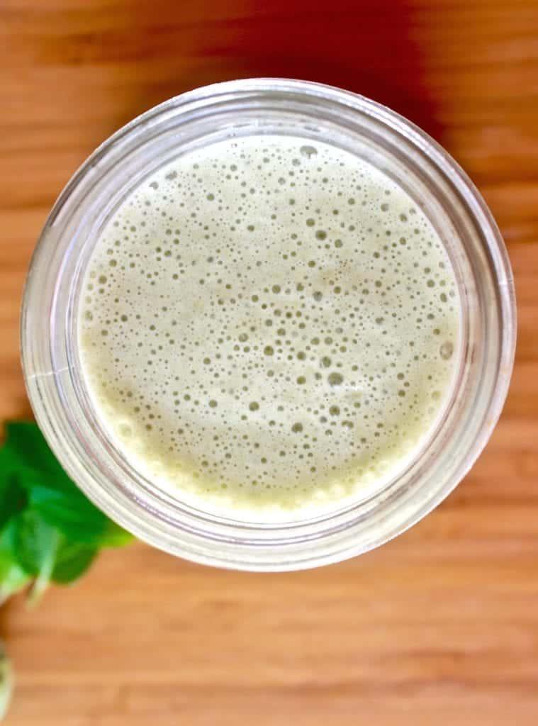 Vanilla Mint Matcha Protein Shake 2 (1)