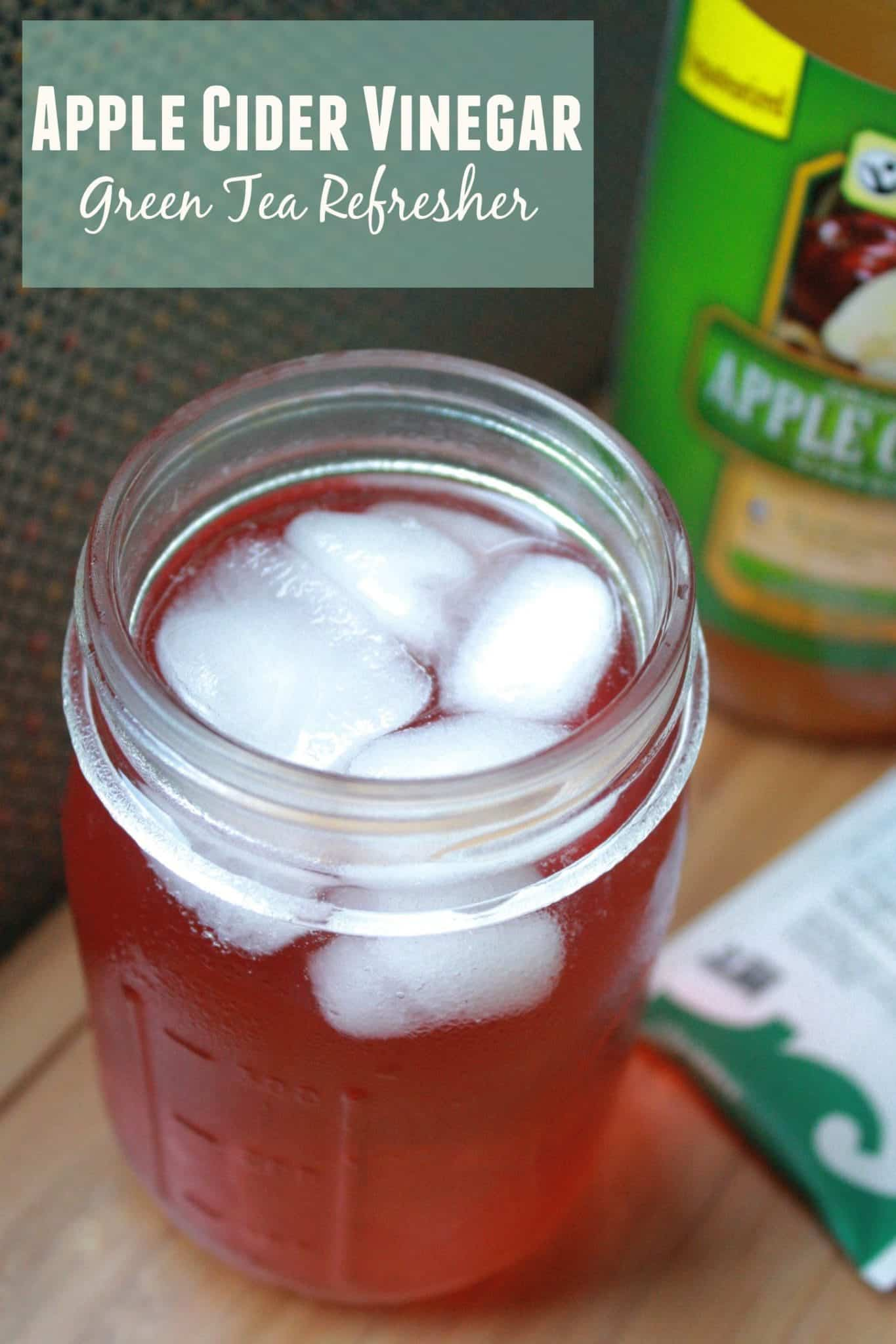 Apple Cider Vinegar Green Tea Refresher • Fit Mitten Kitchen