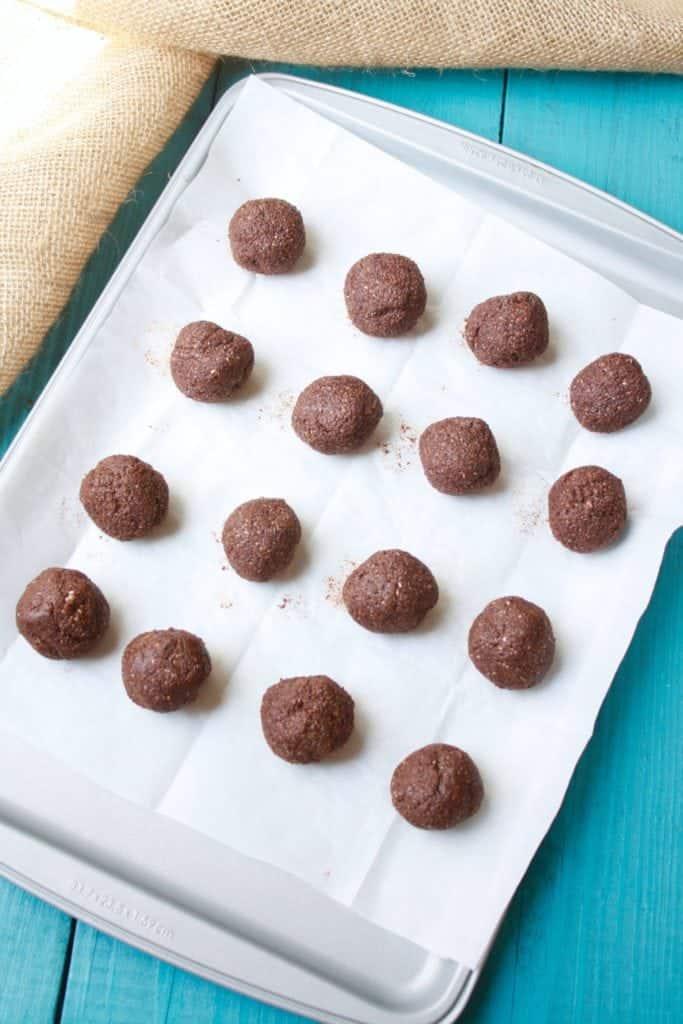 Nut-Free Chocolate Energy Balls [Fit Mitten Kitchen]