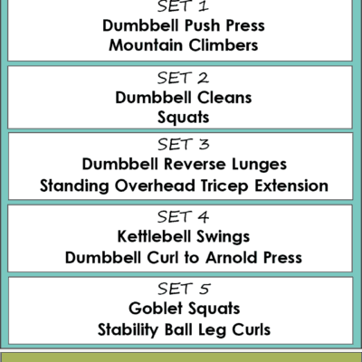 HIIT WORKOUT #3-Tabata Training
