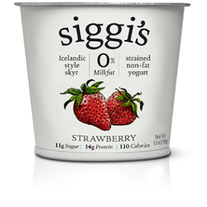 Siggi's is a great alternative to traditional pre-packaged individual yogurt