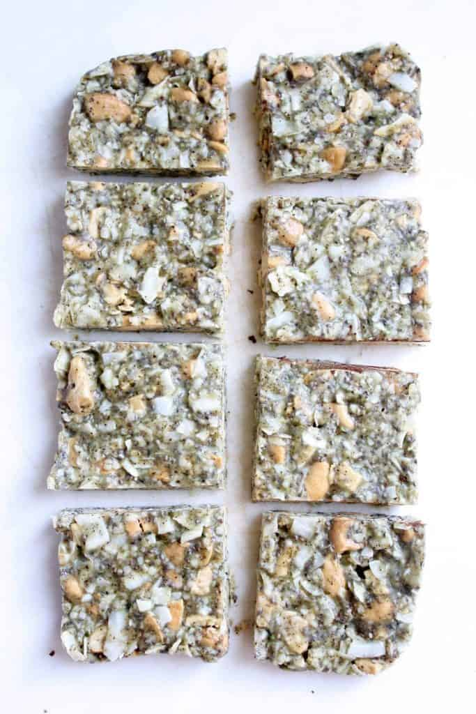 Coconut Cashew Hemp Bars