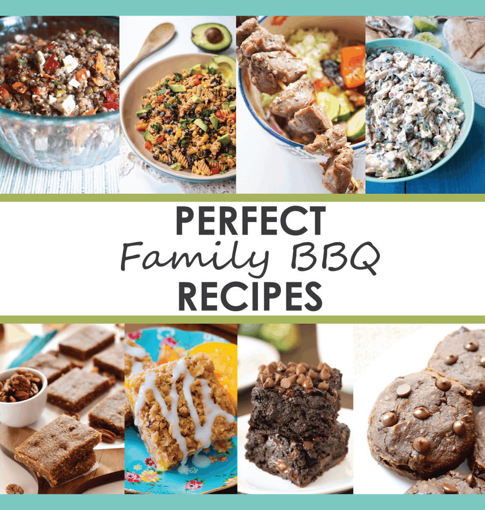 roundup of family BBQ recipes
