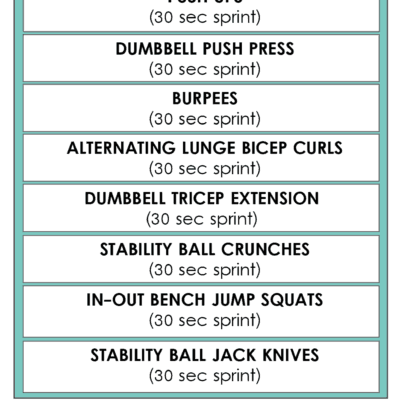 WEIGHT TRAINING WORKOUT #3 [Pyramid]