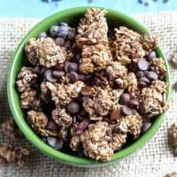 Triple Chocolate Coconut Granola Clusters [Fit Mitten Kitchen]