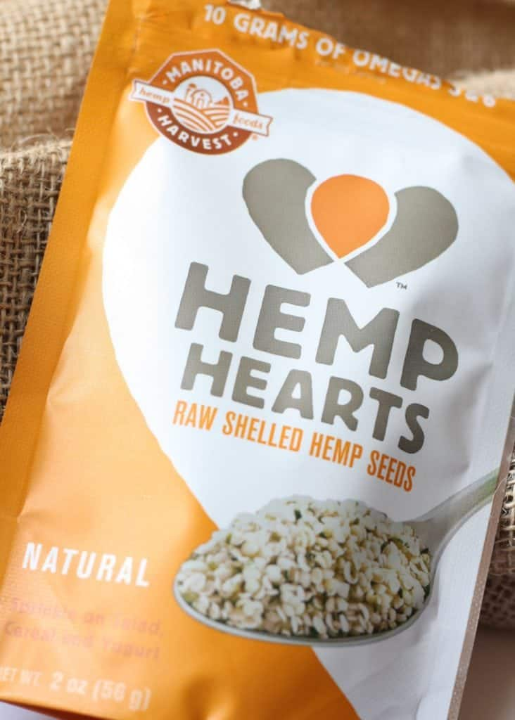 Manitoba Hemp Hearts bag