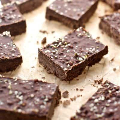 Chocolate Chai Protein Bars with hemp hearts