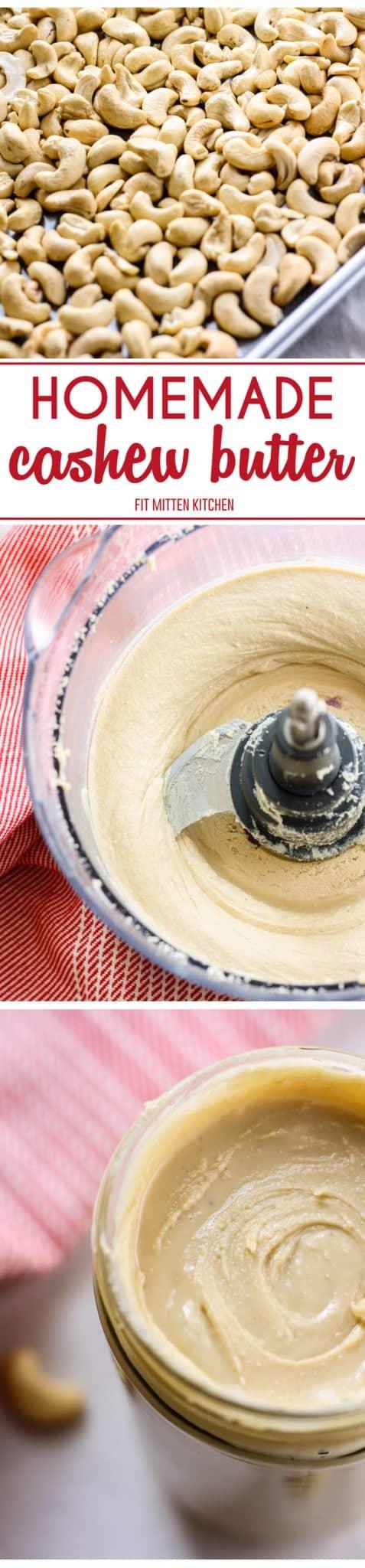 steps to make Homemade Cashew Butter