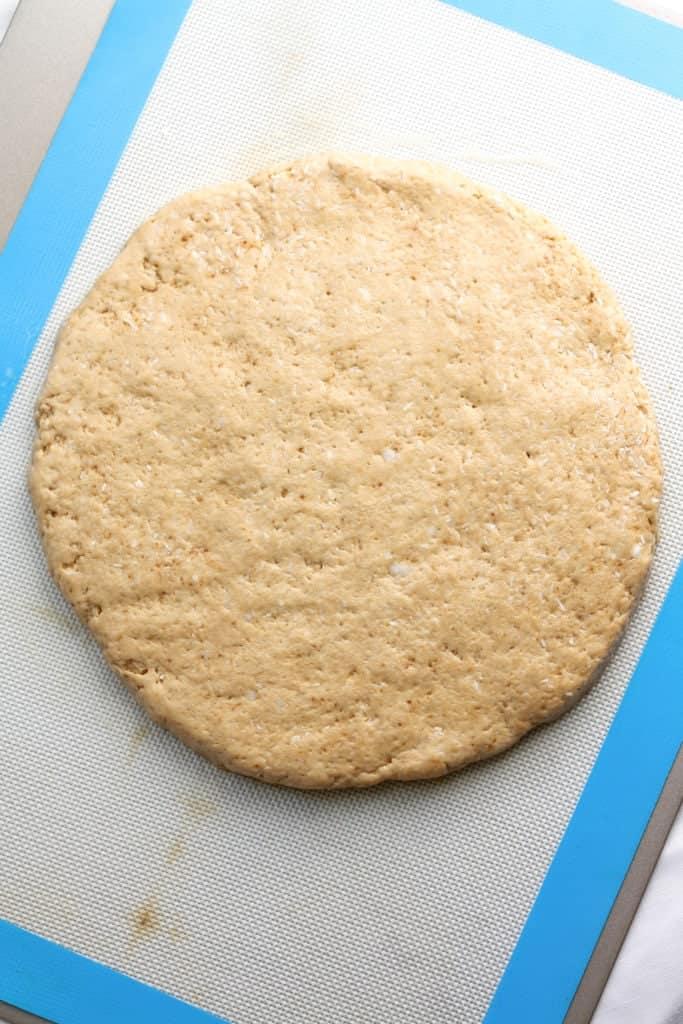 Shape dough into circle