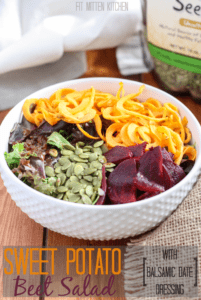 Whole30 Approved! Sweet Potato Beet Salad [Fit Mitten Kitchen]