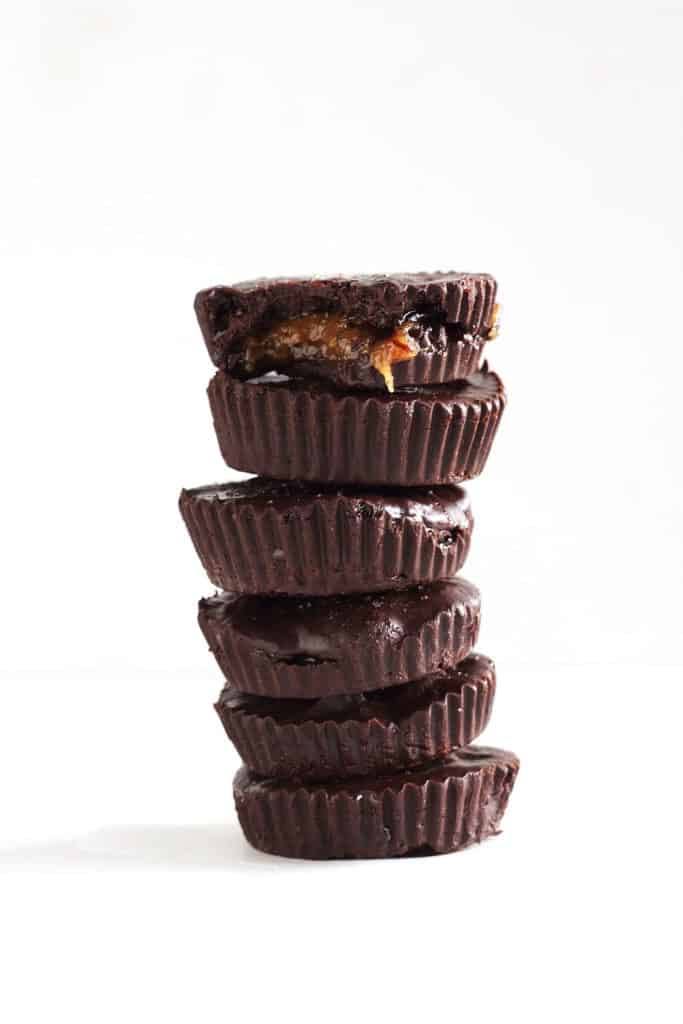 Toffee Almond Butter Cups [The Almond Eater]