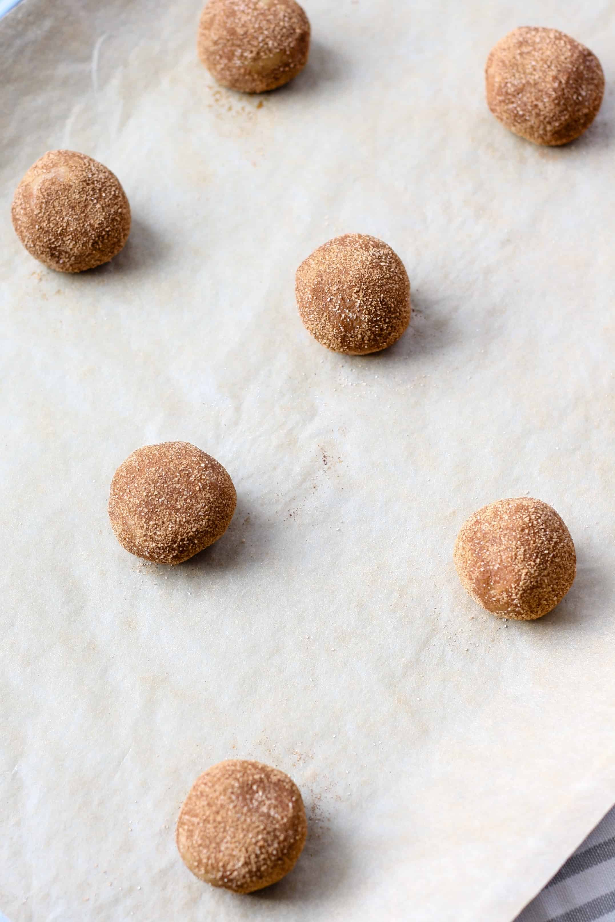 Skinny Whole Wheat Snickerdoodles Recipe — Dishmaps