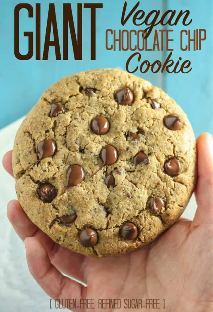 Giant Vegan Chocolate Chip Cookie