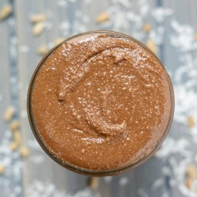 Chocolate Coconut Sunflower Seed Butter