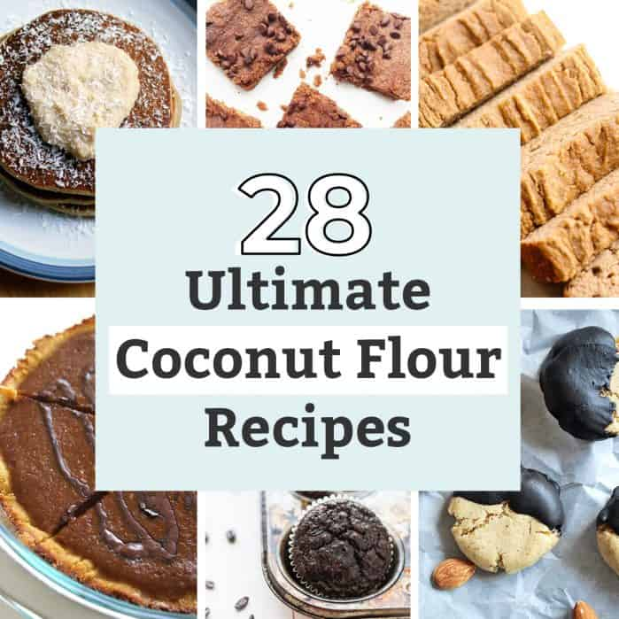 6 photos of coconut flour recipes
