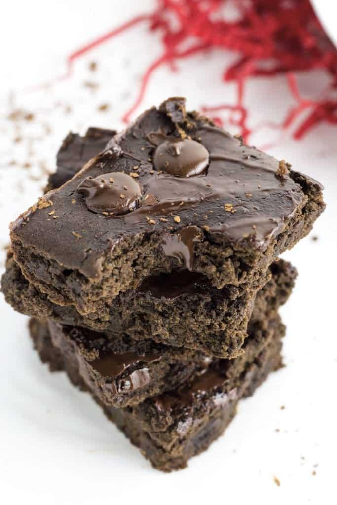 Fudgy Black Bean Brownies 5
