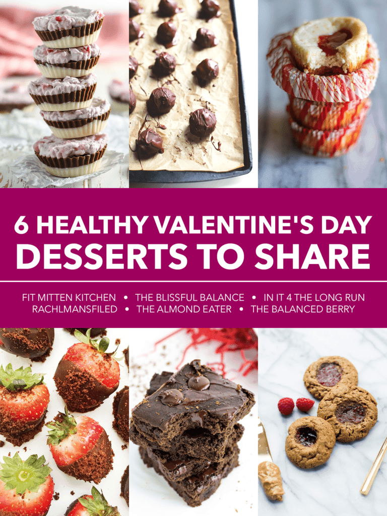 Vegan Neapolitan Coconut Butter Cups [ + 5 more Valentine's Day Desserts to Share! ]