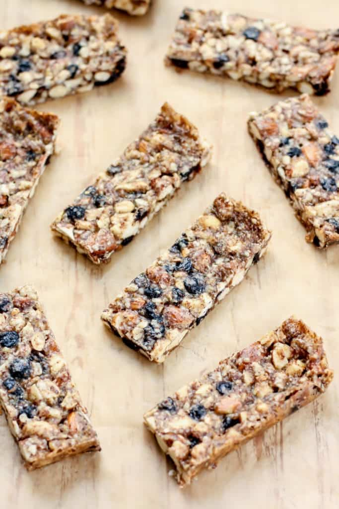 Vanilla Blueberry Cashew Almond Bars-4