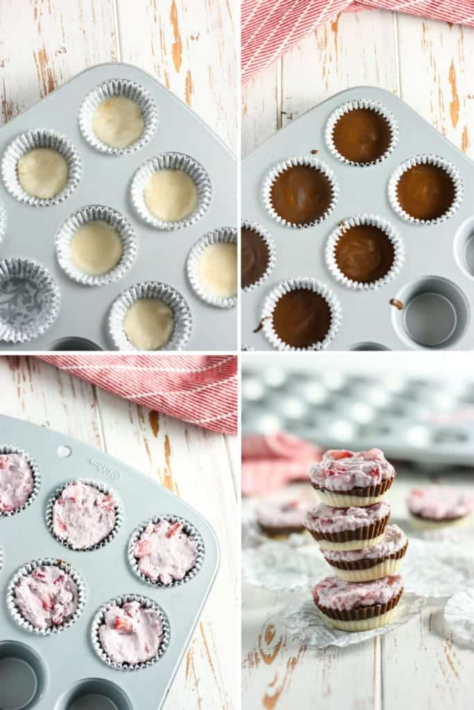 Neapolitan Coconut Butter Cup steps
