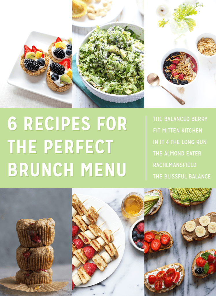 6 Recipes for the Perfect Brunch Menu