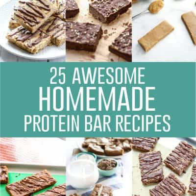 25 Awesome Homemade Protein Bar Recipes
