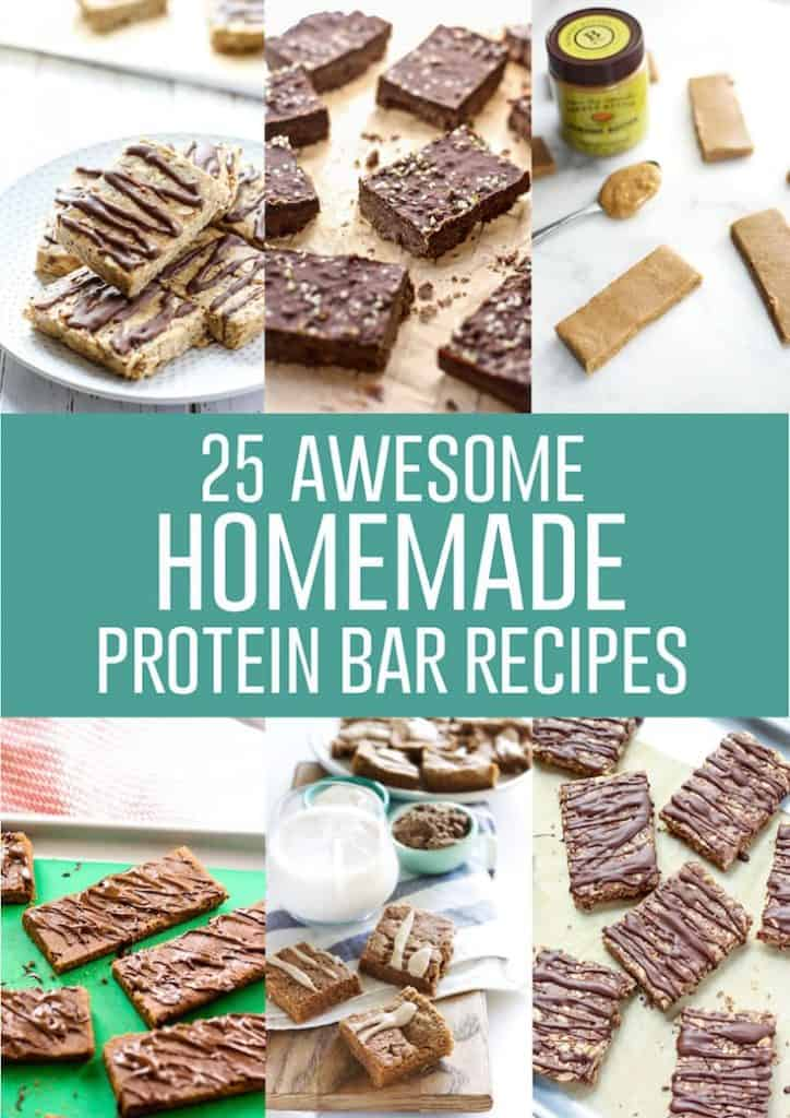 25 Awesome Homemade Protein Bar Recipes to keep the hangry at bay