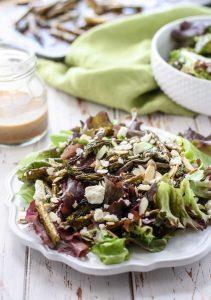 Roasted Asparagus Salad [ summer salads ]