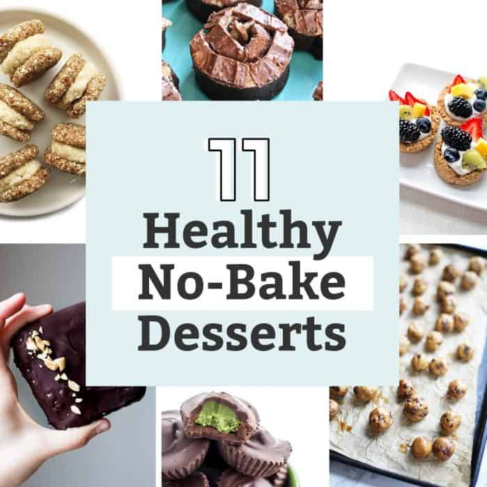 11 healthy no-bake desserts