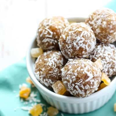 Tropical Coconut Energy Balls
