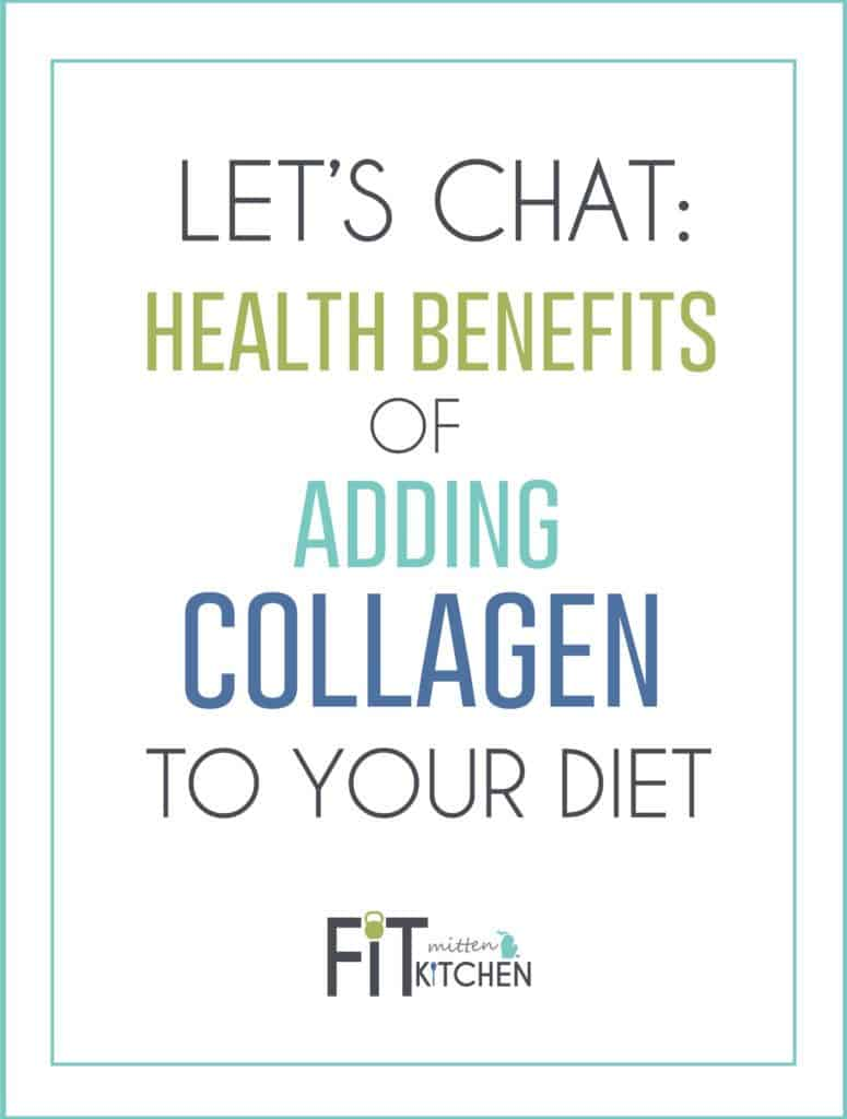 Should you be taking collagen supplements? Let's chat: Health Benefits of Adding Collagen to your Diet.