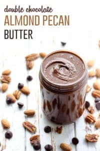 Double Chocolate Almond Pecan Butter