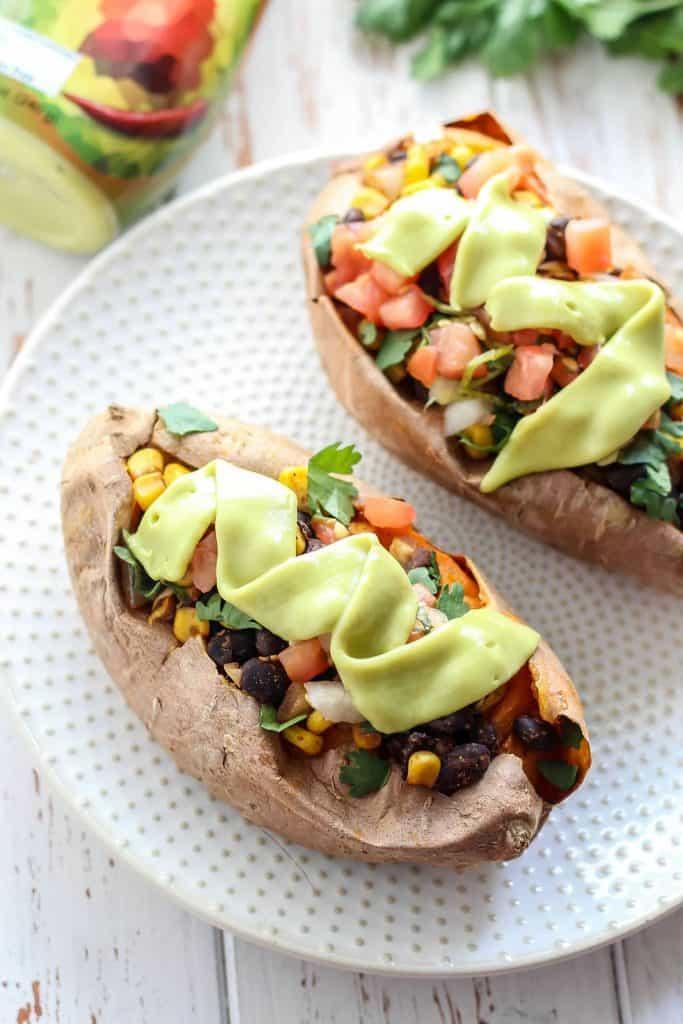 Easy Mexican Stuffed Sweet Potatoes-15