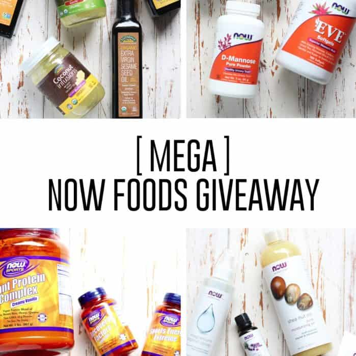 a MEGA giveaway from the NOW Influencer Immersion