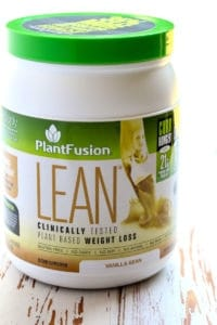 PlantFusion LEAN is a great supplement to add to your diet. Great for meat-eaters and plant-lovers alike.