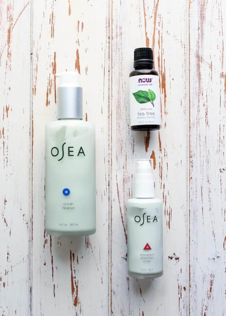 OSEA Skincare & Tea Tree Oil