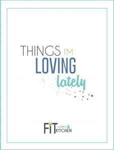 Some Things I'm Loving Lately. Therapy balls, TP STK, homemade face masks and more!