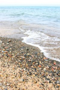 12 Mile Beach. Lake Superior Michigan