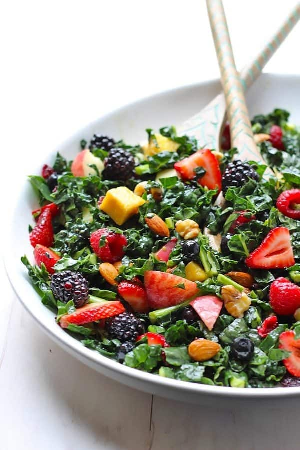 Best Kale Summer Salad [ summer salads ]