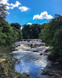 Asygarth Falls, Yorkshire