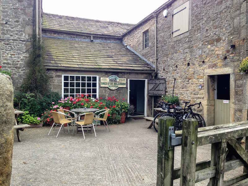 Farmhouse Lunch stop in the Yorkshire Dales