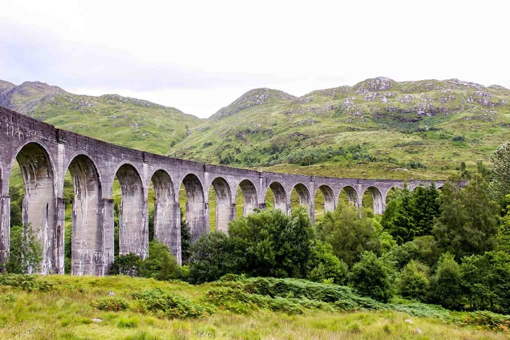 The Glenfinnan Viaduct. Scotland.