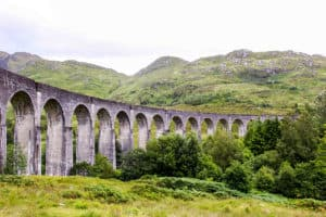 The Glenfinnan Viaduct. Scotland.