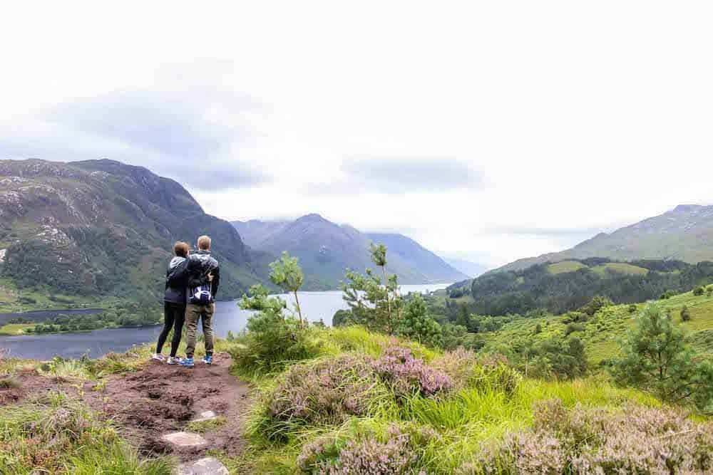 gorgeous views on the glenfinnan viaduct trail