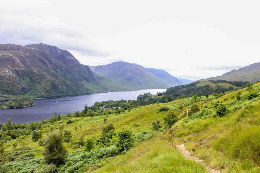 Views from the Glenfinnan Viaduct Trail