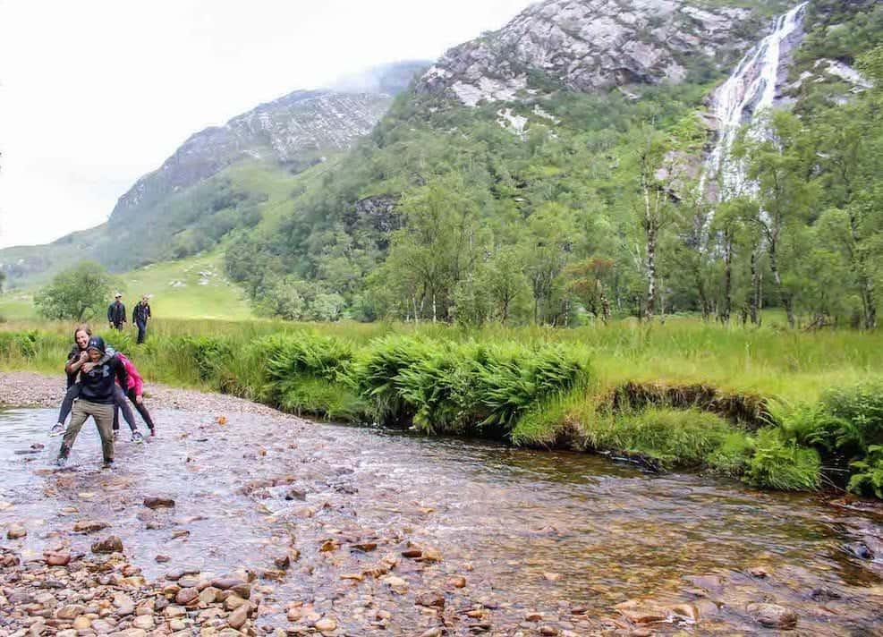 Steall Falls Hike