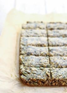 Cinnamon Turmeric Super Seed Energy Bars
