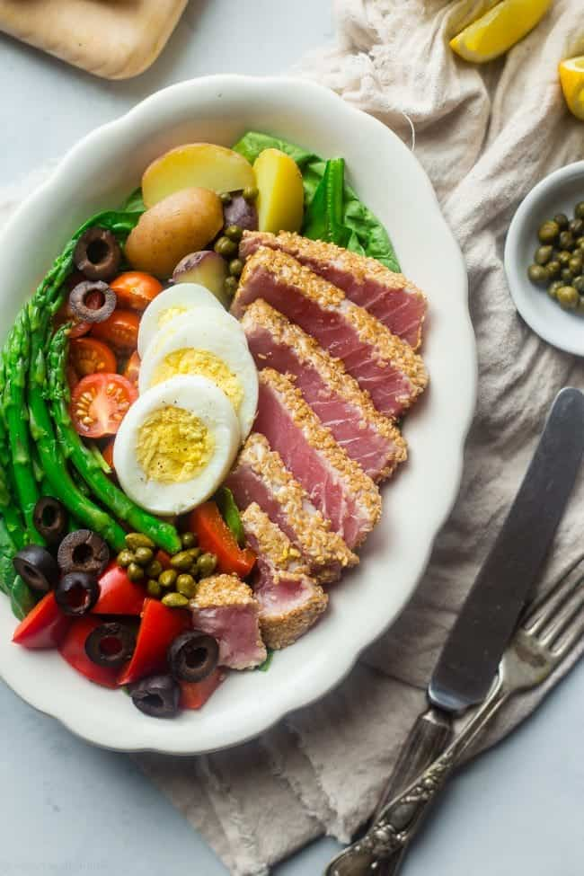 Asian Nicoise Salad [ summer salads ]