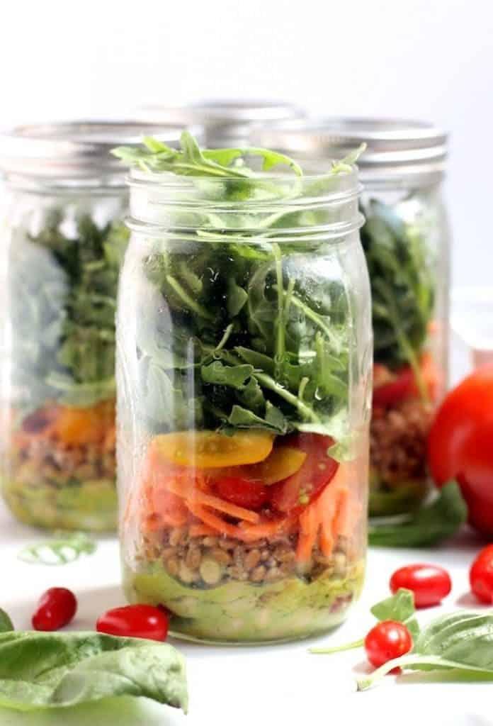 White Bean Basil & Arugula Salad [ summer salads ]