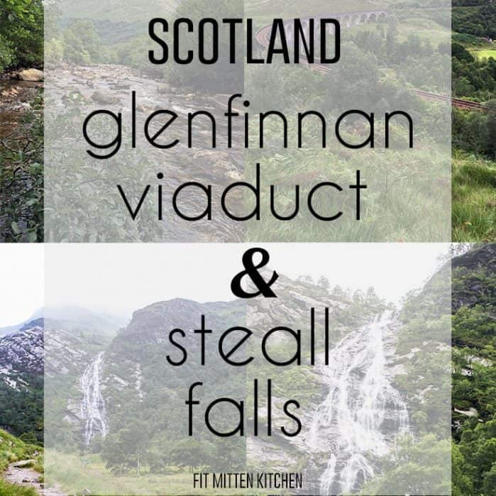 Scotland. Glenfinnan Viaduct and Steall Falls