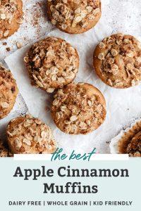 the best apple cinnamon muffins
